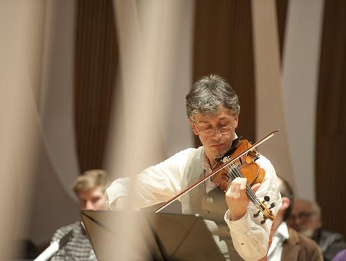 Mark Menzies, violin